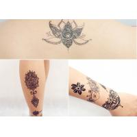 Quality Body Art Fake Temporary Tattoo Sticker , Temporary Sleeve Tattoos For Adults for sale