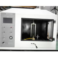 Wholesale White Flammability Test Apparatus , Combustion Testing Equipment With Numerical Control Set from china suppliers