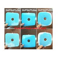 Wholesale Custom Blue Hard Plastic Ice Packs For Food 12.2 * 12.2 * 1.2cm from china suppliers