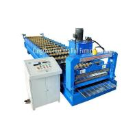 Wholesale High Speed Roof Sheet / Wall Panel Roll Forming Machine With Chain Drive PLC Control from china suppliers