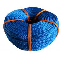 Wholesale Blue 3 Strand Nylon Rope PP PE Twisted Feature Diameter 6mm-160mm from china suppliers