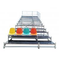 Wholesale Durable Steel Fixed Arena Bleacher Grandstand System For Exhibition from china suppliers