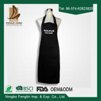 Wholesale Deconovo Chef Cotton Kitchen Solid Color Apron with Pockets and Adjustable Neck Straps from china suppliers