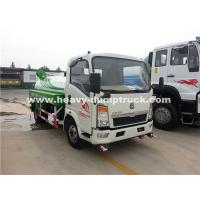 Wholesale Right Hand Driving 8CBM Truck Mounted Water Tank With 140Hp Euro II Engine from china suppliers