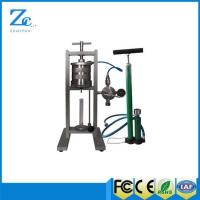 Buy cheap ZNS-5MP Filter Press API (LPLT) with API standard drilling fluid cup from wholesalers