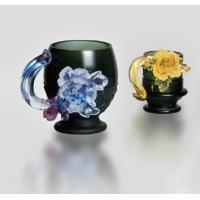 Wholesale Handblown glass bowls / glass dishes / Handblown glass paltes DJ-12005 from china suppliers