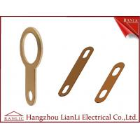 Wholesale Copper / Bronze Cable Earth Link For Cable Tray Laddle Trunking 72mm 89mm Length from china suppliers