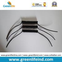 Wholesale Semi-finished Black Spring Spiral Coil Cables Custom 40MM Length 50MM Lines on Ends from china suppliers