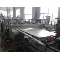 Wholesale 1220mm PVC crust foam board production line from china suppliers