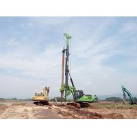 Buy cheap 50m Depth Bored Pile Driving Machine with CAT chassis Construction Pile rig KR150C from wholesalers