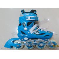 Wholesale Blue Ladies Inline Roller Skates Indoor Outdoor Skating Equipment Skate Shoes with Wheels from china suppliers