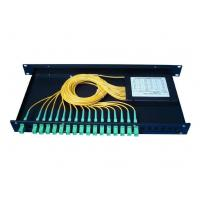 Wholesale 1x16 Fiber Optic PLC Splitter Rack Mounted Fiber Terminal Box from china suppliers