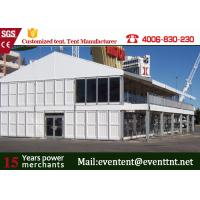 Wholesale Aluminum Alloy 30m Double Decker Tent ABS Wall With PVC Coated Polyester Fabric from china suppliers