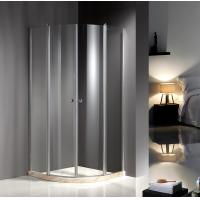 Wholesale Chrome Profile 900X900 Quadrant Shower Enclosures , Clear Glass Shower Enclosures from china suppliers