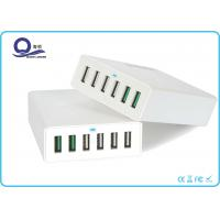 Wholesale Dual Quick Charge 3.0 Ports 6 Port Charging Station with 1.5M AC Power Cord from china suppliers