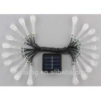 Wholesale 20leds solar garden lights 5m colorfule led christmas lights from china suppliers