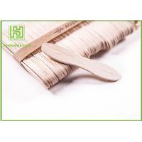 Wholesale Customized Birch Wooden Ice Cream Sticks Craft For Toddlers 114MM with Natural Color from china suppliers