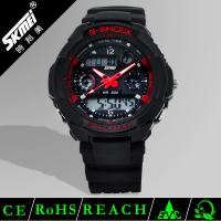 Wholesale 3 ATM PU Strap Multifunction Sport Watch For Men Waterproof OEM ODM from china suppliers