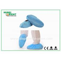 Wholesale Clean Room Disposable Shoe Cover , Unisex Ankle High disposable over shoes from china suppliers
