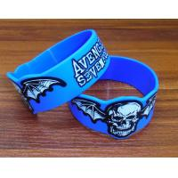 Wholesale Adjustable Silicone Rubber Parts Silicone Rubber Wristbands With Embossed Print Design from china suppliers