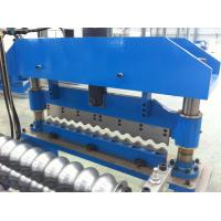 Wholesale Corrugated Roof Roll Forming Machine with 18 Stations/7.5KW/0.3mm-0.8mm/Blue from china suppliers