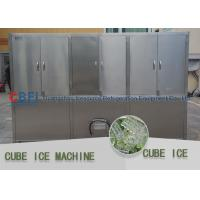 Wholesale Bitzer Compressor Ice Cube Machine / Industrial Ice Machines Energy Saving from china suppliers