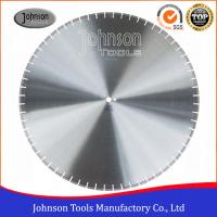 Quality 900mm Laser Welded Diamond Floor Saw Blades 40 X 5 X 10mm X 52nos Segment for sale