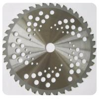 Wholesale Circular Saw Blades On Line - with insert lock teeth - for grass cutting 230mm x 1.7mm /1.3mm T=52 from china suppliers