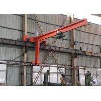 Wholesale Swing Arm Wall Mounted Jib Crane With Electric Chain Hoist for Workshop from china suppliers