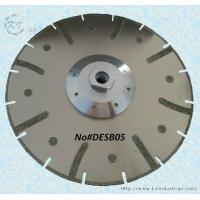 Wholesale Electroplated Segmented Saw Blades - DESB05 (Drop-shaped protective teeth) from china suppliers