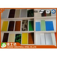 Wholesale 1000mm 1200mm Pre-Painted Galvanized Steel Coils , Yellow / Green / Orange from china suppliers