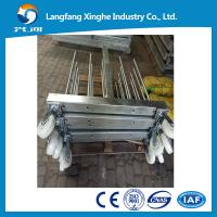 Buy cheap 800kg Vietnam 380v construction gondola platform , zlp800 steel hot galvanized suspended platform , cleaning cradle from wholesalers