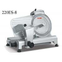 Wholesale Semi Automatic Food Preparation Equipments , Electric Frozen Meat Slicer With Sharpener from china suppliers