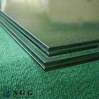 Wholesale Dark Green Laminated Glass Price 8.38mm 10.38mm 12.38mm from china suppliers