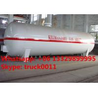 Wholesale bottom price customized surface lpg gas storage tank for sale, Factory sale cheapest 5-120m3 propane gas storage tank from china suppliers
