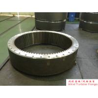 Wholesale Custom Ring Gear Forged Steel Flanges ASTM and ASME Standards , Hydraulic Press from china suppliers