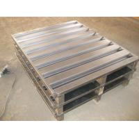 Wholesale Heavy duty steel pallet for warehouse storage/logistic pallet/pallet for cold storage from china suppliers