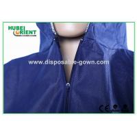 Wholesale Blue Breathable Disposable Tyvek Coveralls for Lab Room or Hospitals from china suppliers