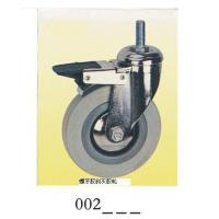 Wholesale Gray rubber Caster wheel screw top brake 002 from china suppliers