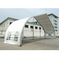 Wholesale 20m High Peak Peach Shaped Clear Span Tent Aluminum Frame Structure Material from china suppliers