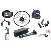 Sliver White / Black 250w Electric Bike Kit With 36v 10ah Rack Battery