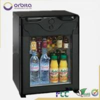 Wholesale High quality glass door minibar, noiseless working mini cooler, absorption mini fridge from china suppliers