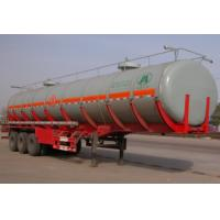 Wholesale 30000 Liters Tank Truck Trailer , Semi Tanker Trailer For Gasoline Transport from china suppliers