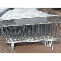 Wholesale crowd control barricade panels portable removable fence panels from china suppliers