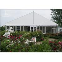 Wholesale Gorgeous Transparent Glass Outdoor Party Tents , 850g/Sqm PVC Fabric 20x30 Tent from china suppliers