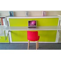 Wholesale Fold Down Contemporary Wall Bed Single Murphy Bed with Computer Table from china suppliers