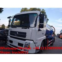 Wholesale Cheapest price dongfeng 4*2 LHD 10cbm vacuum tank truck for sale, Factory sale good price sludge tank truck from china suppliers