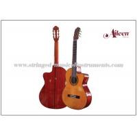"Wholesale 39"" Cutaway Spruce plywood and 650mm , length Electric Classical Guitar with 4-Band EQ from china suppliers"