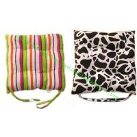 Wholesale Rural Style Cotton Canvas Seat Cushion , Soft Dining Chair Cushions For Office from china suppliers