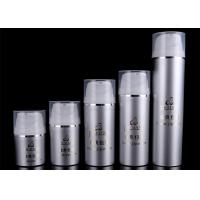 Quality Refillable Airless Foundation Pump Bottle Cosmetic Packaging Screen Printing for sale